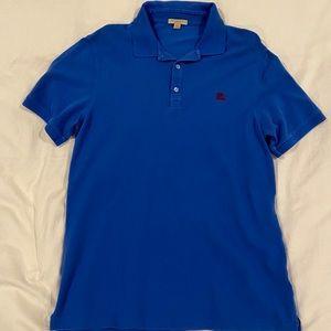 SOLD Burberry Brit blue polo shirt XL